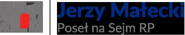 Jerzy Wojciech Małecki – Poseł na Sejm RP