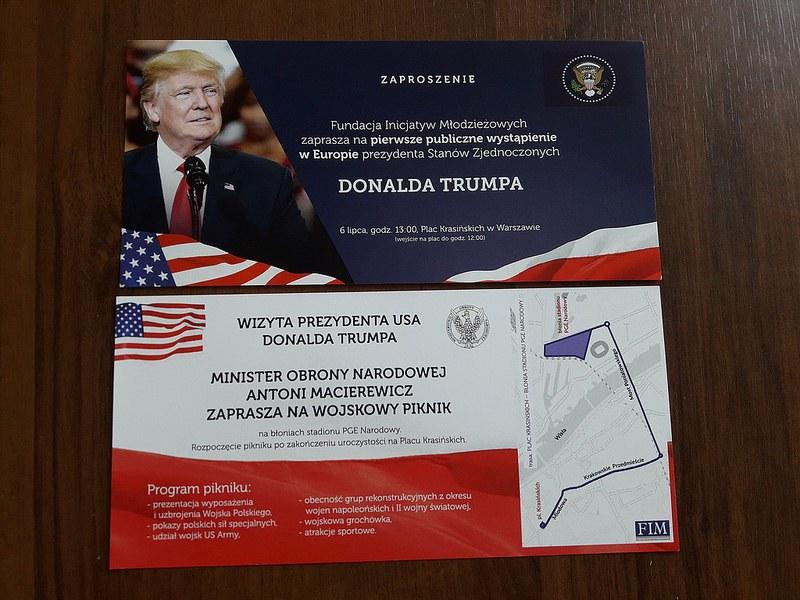 Zaproszenie Na Spotkanie Z Prezydentem Usa Jerzy Wojciech Małecki